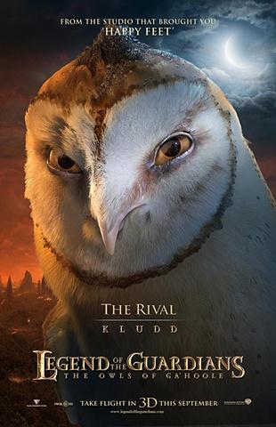 legends of guardians animallogic 23 poster