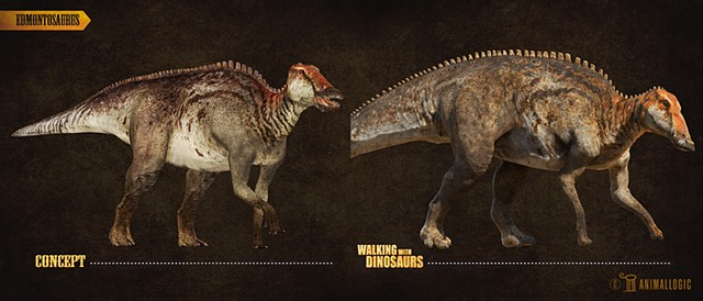 edmontosaurus  Walking with dinosaurs 3d movie