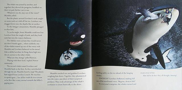 happy feet pre prod poster killerwhale
