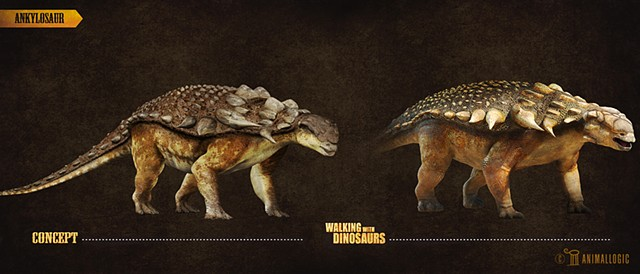 ankylosaur: Walking with dinosaurs 3d movie