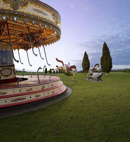honda carousel horse