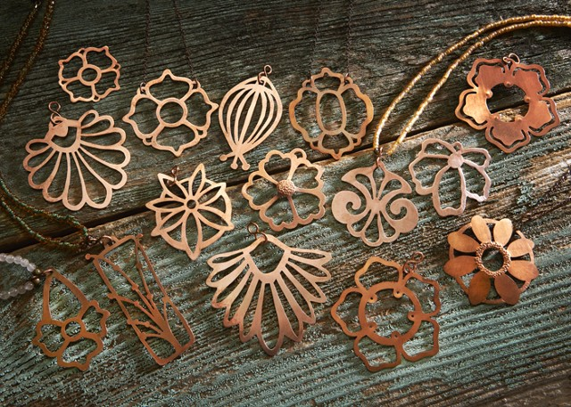 All these Copper Pendants can be purchased.
