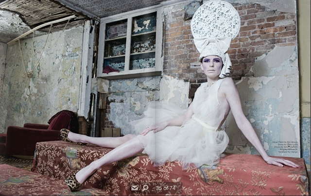 Hat in Veux magazine