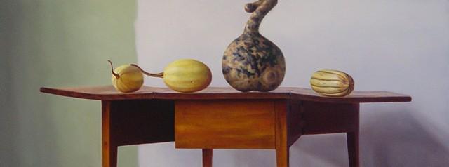 Gourd w/ Three Squash