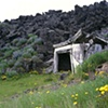 Sigurdsson House and Lava Wall, Heimaey, Iceland
