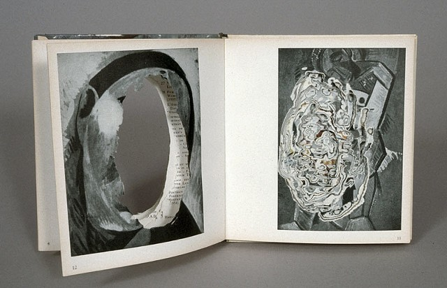 cut, deconstructed, gouge, bookworks, dissection, altered book, picasso