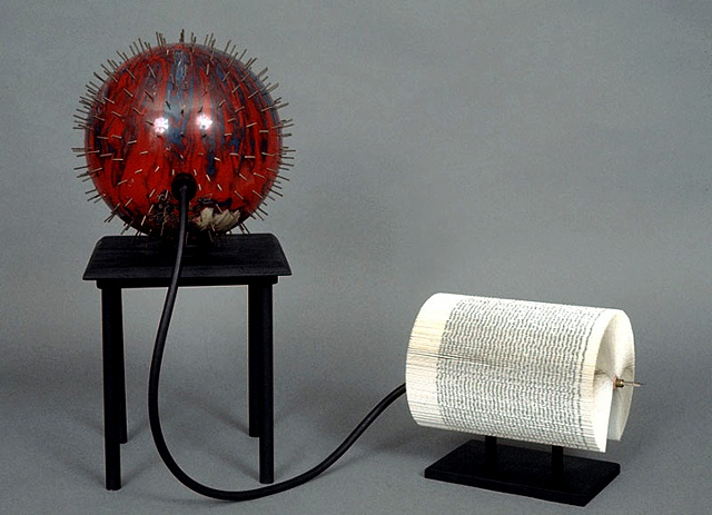 book, bookwork, bookworks, altered, altered book, unique, one of a kind, unique book, sculpture, power tools, bowling ball, explosive, bomb