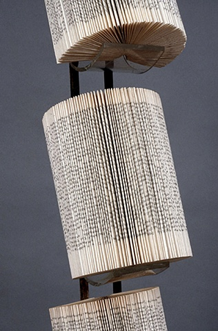 unique, sculpture, one of a kind, bookwork, altered book