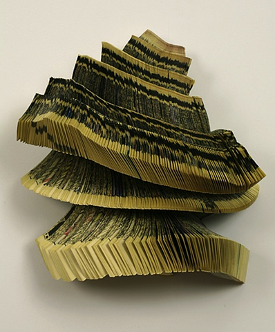 altered, alter, altered book, bookwork, bookworks, unique, one of a kind, cut paper, facebook, political art, paper sculpture