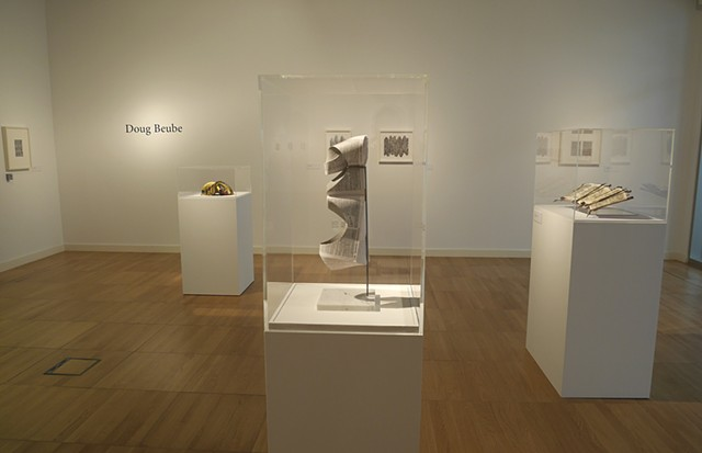 Charisma of the Book: The Exhibition Doug Beube, Irma Boom, and Brian Dettmer