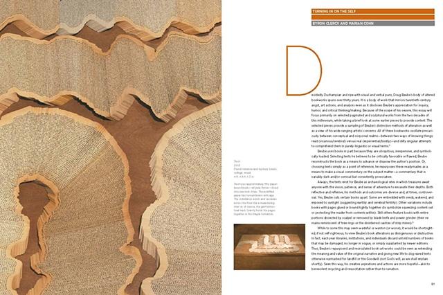 artwork, monograph, bookwork, bookworks, altered book, sculpture, artist's book