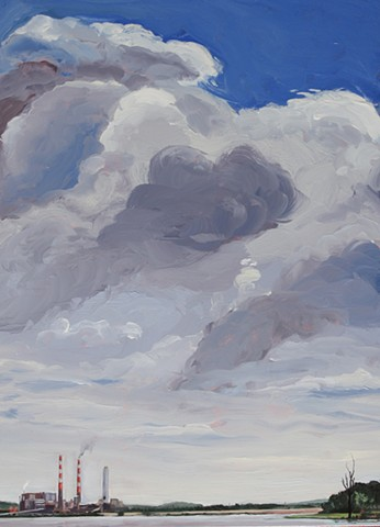 """Clouds over La Cygne"""