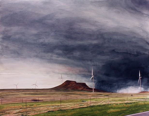 """Northwest Wind 5 Turbines"""
