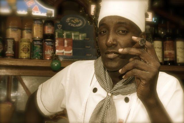 Chef Jorge in Kitchen