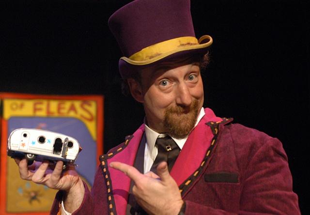 Ringmaster at the Flea Circus