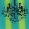 Chandelier Green Stripe