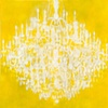 Chandelier - Yellow