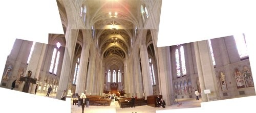 Grace Cathedral Interior