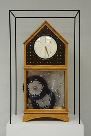 Block Clock (front view)