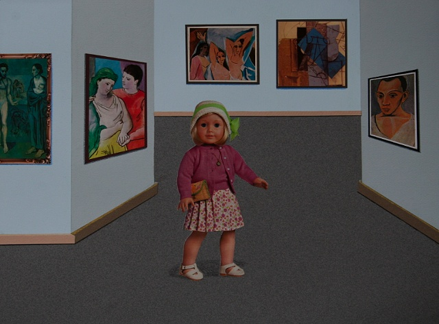 """""""Kay in the Picasso Room"""""""