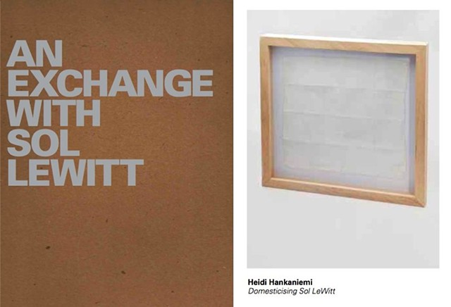 An Exchange with Sol LeWitt, Massachusetts Museum of Contemporary Art