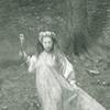 Fairy in Japanese Garden
