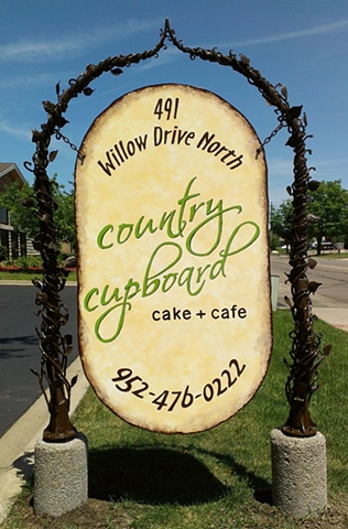 Country Cupboard Sign