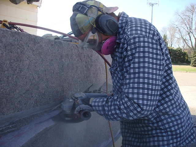 Slicing Granite