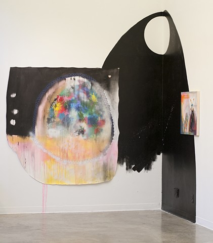 intervention in gallery space