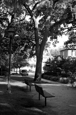 Sunday Afternoon in Savannah B&W