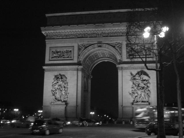 arc du triomphe 2006