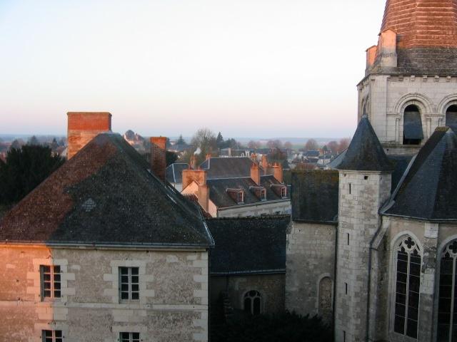 pontlevoy from window