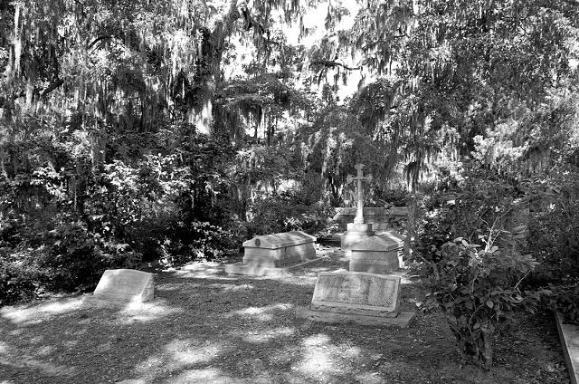 Bonaventure Cemetery #12- B&W