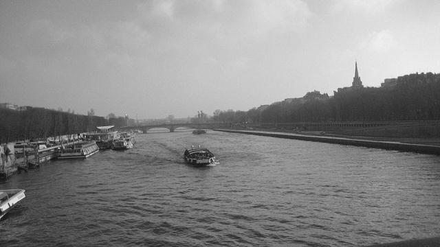 Seine at Dawn