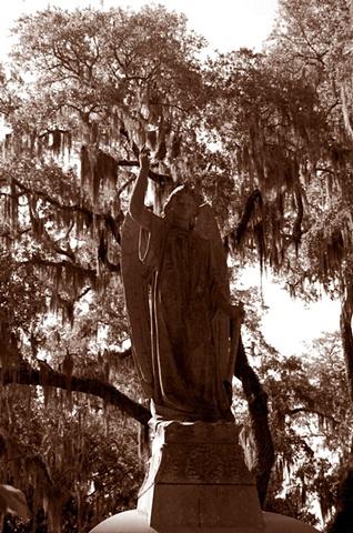 Bonaventure Cemetery #10- Sepia