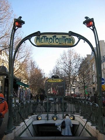 Paris Metro color