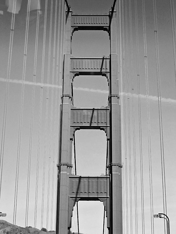 Golden Gate Bridge- BW3