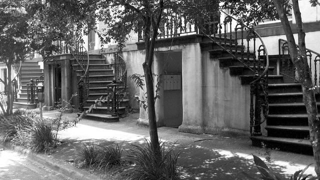 Staircases #1- B&W
