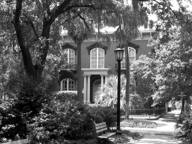 Mercer House B&W