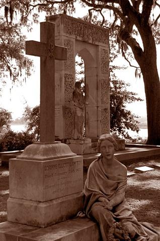 Bonaventure Cemetery #6- Sepia