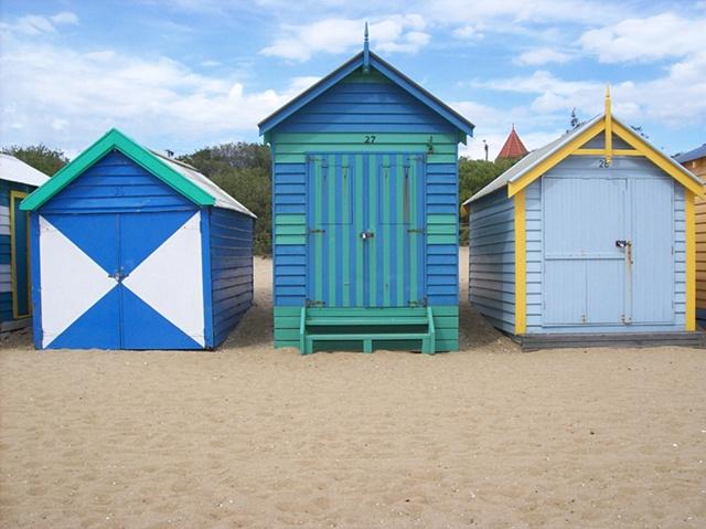 Brighton Beach - 3 with white