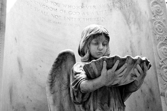 Bonaventure Cemetery #3- B&W