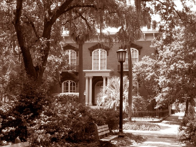 Mercer House- Sepia