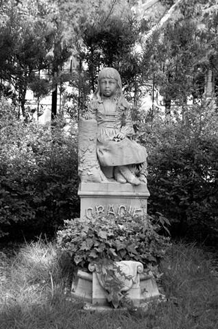 Bonaventure Cemetery #11- B&W