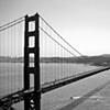 Golden Gate Bridge- BW