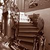 Gordon Street Staircase- Sepia
