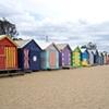 Brighton Beach - Red/Yellow Row