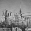 Notre Dame Cathedral BW