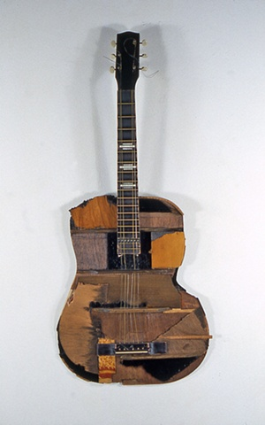 Two Dimensional Guitar