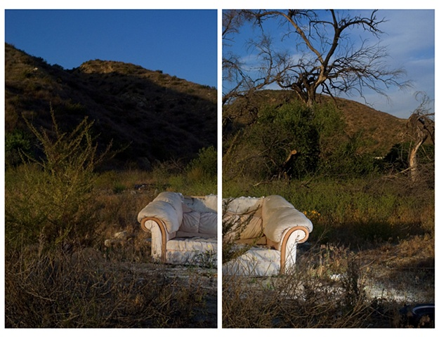 White Couch, Rosena Ranch
